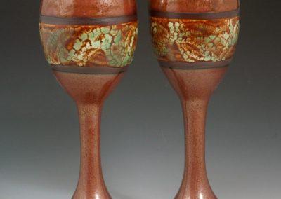 Kaki goblets